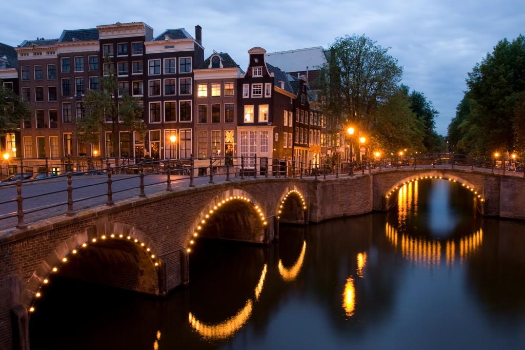 アムステルダム 街並み