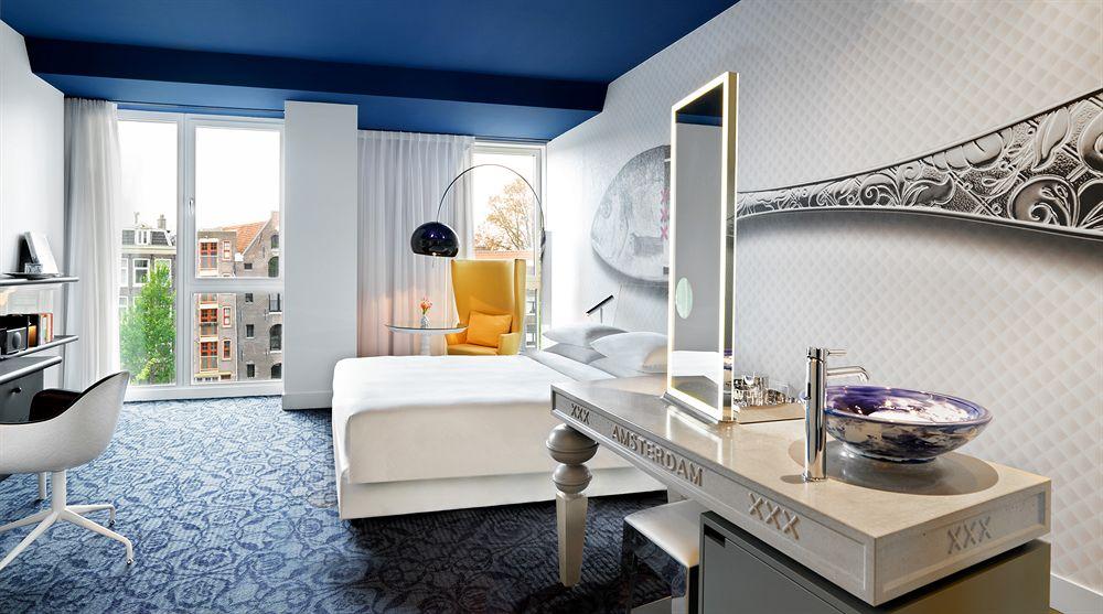 アンダーズ・アムステルダム・プリンセングラハトの客室