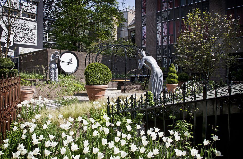 アンダーズ・アムステルダム・プリンセングラハトの庭園