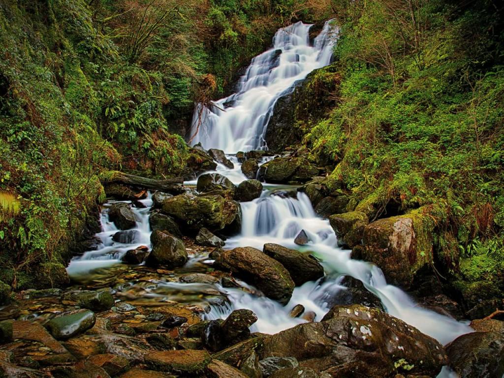 キラーニー国立公園 滝