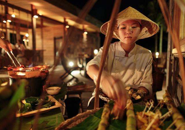 シックス・センシズ・コンダオ・ベトナムのレストラン