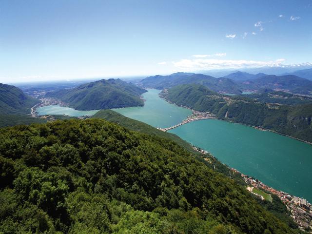 スイスの世界遺産 サン・ジョルジョ山