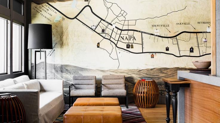 カルフォルニアワインを存分に味わうために「アンダーズ・ナパ」に滞在しよう