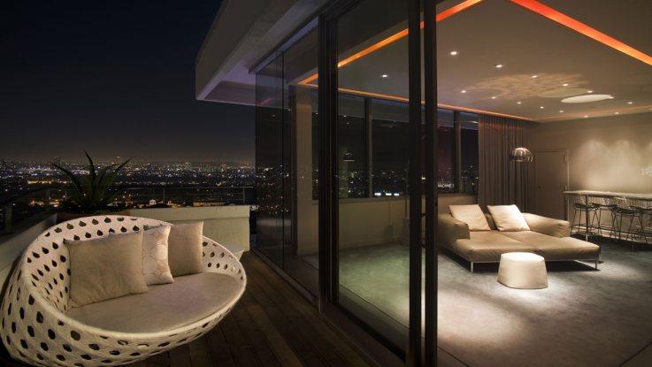 アンダーズ・ウエスト・ハリウッドの客室