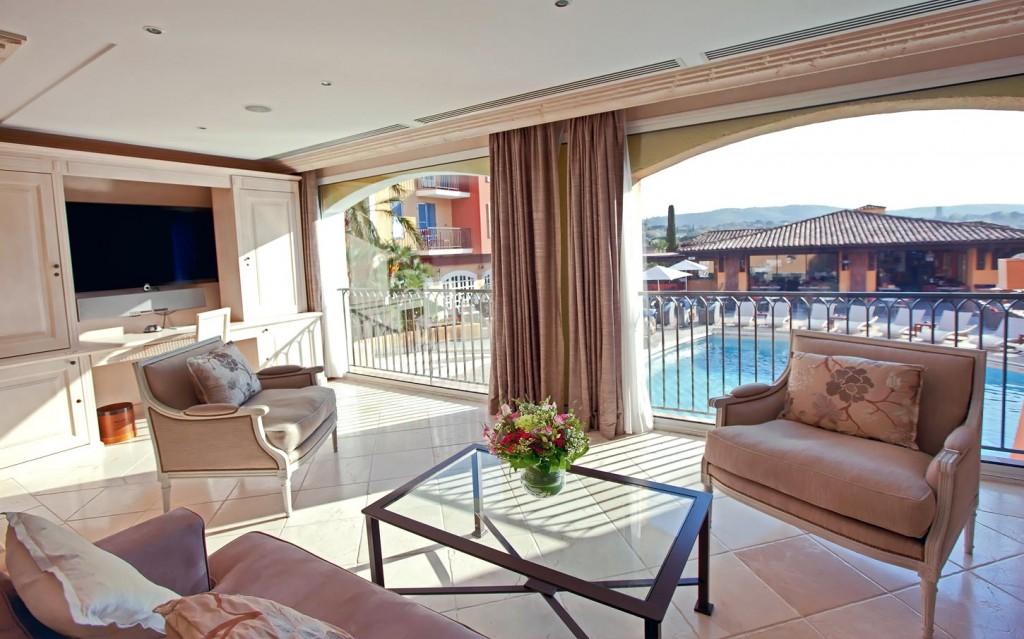 ホテル・ビブロス・サントロペのスイート
