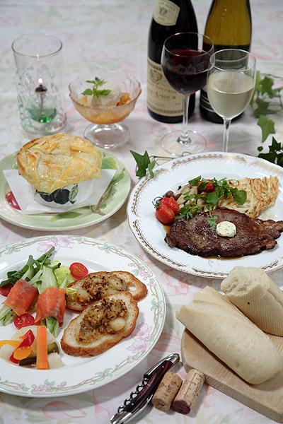 ララビー・軽井沢のディナー