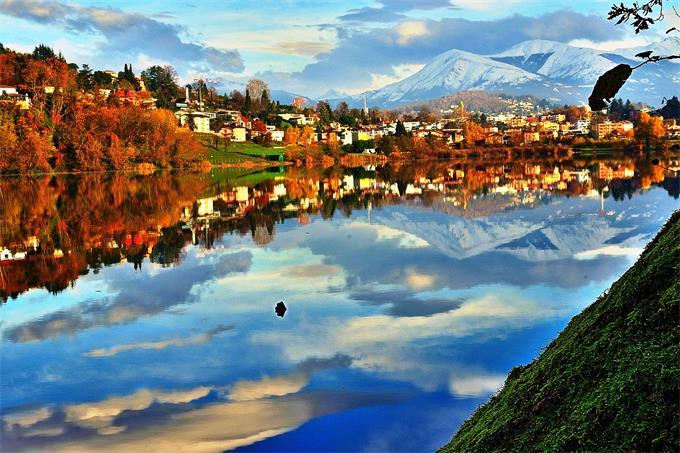 スイス ティチーノ州ルガーノ