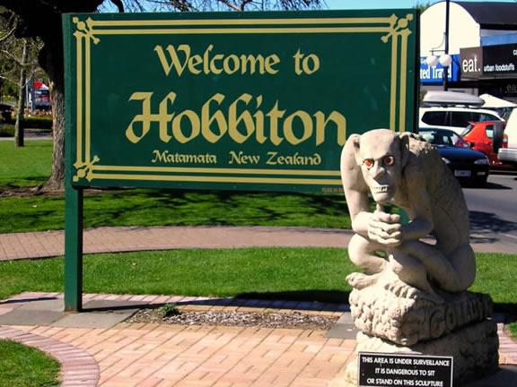 映画『ロード・オブ・ザ・リング』や『ホビット』の撮影地となったニュージーランドのホビット村があるマタマタ