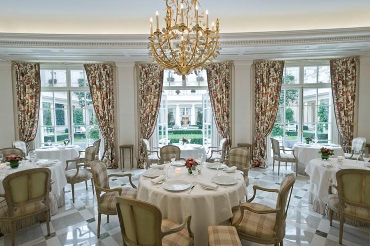 ル・ブリストル・パリの3つ星レストラン・エピキュール