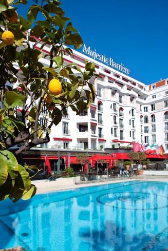 ホテル・マジェスティック・バリエールの外観