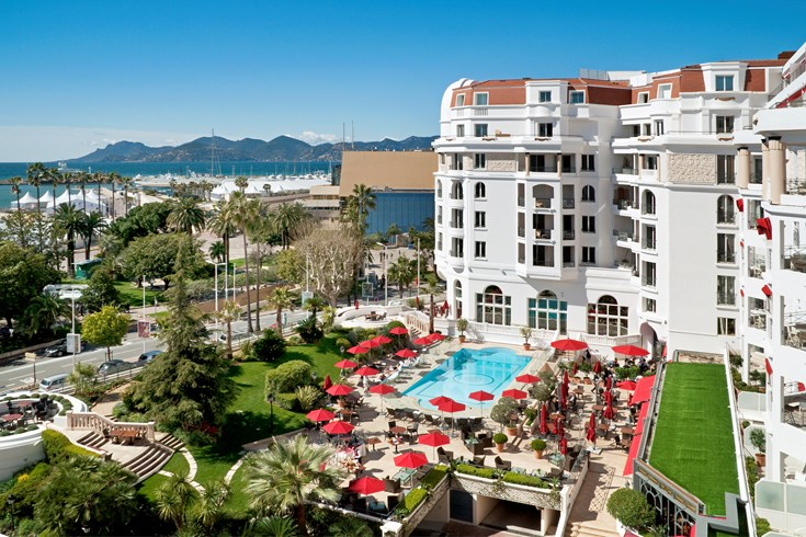 古き良き優雅なフランスを感じる「ホテル・マジェスティック・バリエール」