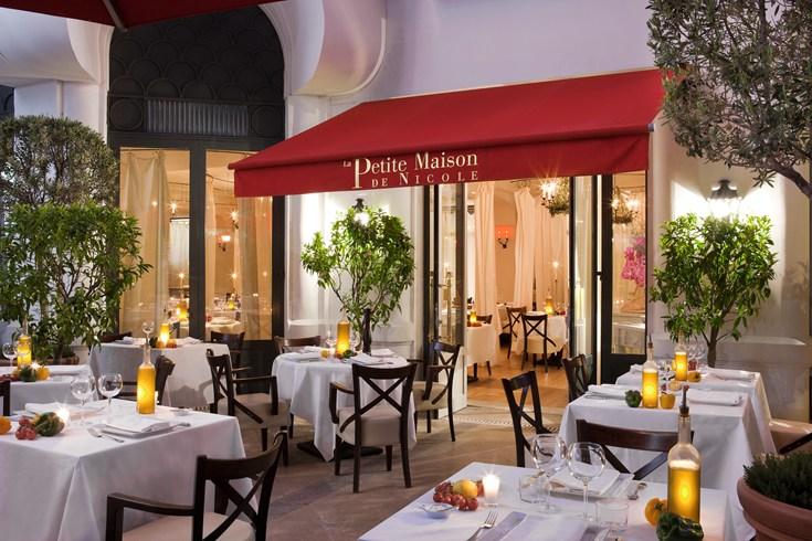 ホテル・マジェスティック・バリエールのレストラン