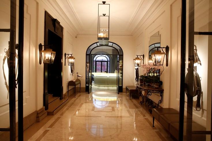 ホテル・ランカスターのロビー