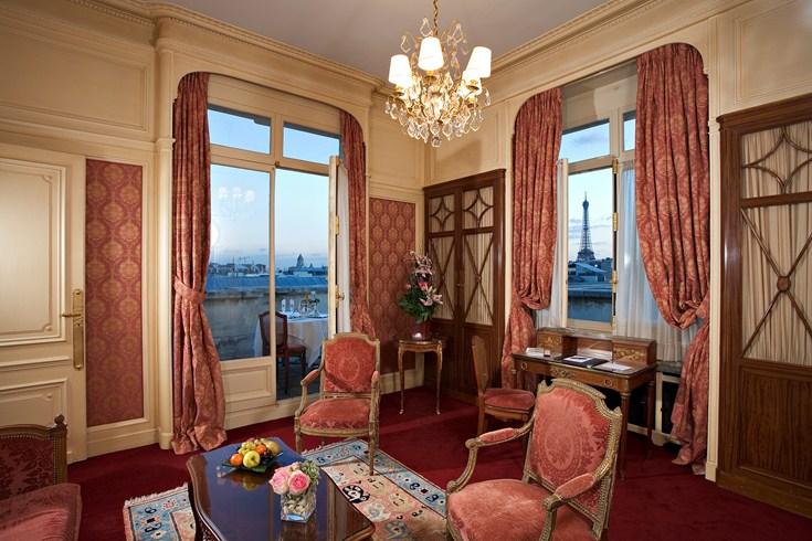 ホテル・ラファエルの客室