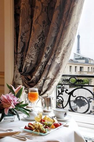 ホテル・ラファエルの客室からの眺め