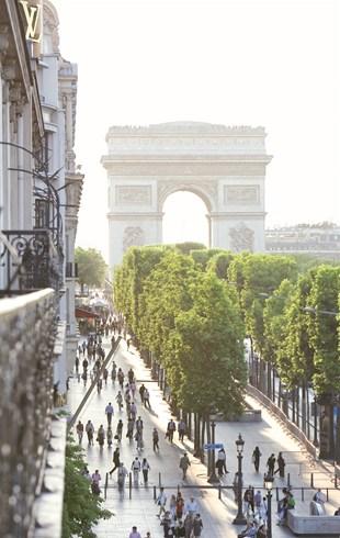 ホテル・フーケッツ・バリエールからの眺め
