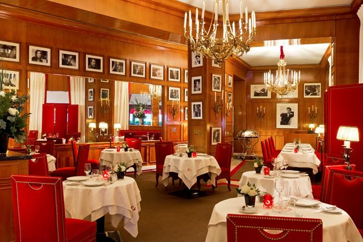 ホテル・フーケッツ・バリエールのレストラン