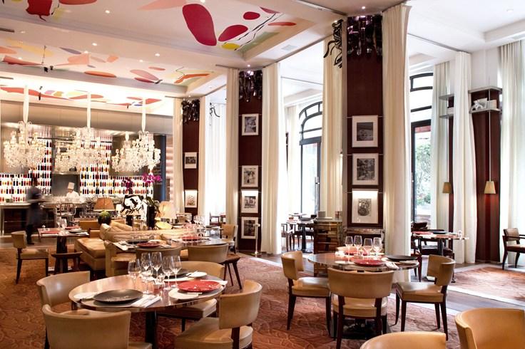 ル・ロワイヤル・モンソー・ラッフルズ・パリのフレンチレストラン