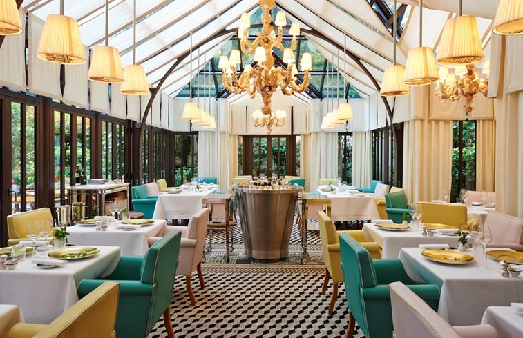 ル・ロワイヤル・モンソー・ラッフルズ・パリのイタリアンレストラン