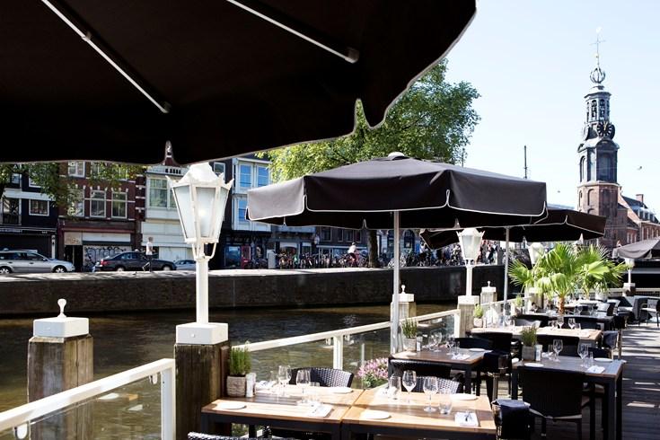 デ・ルーロップ・アムステルダムのレストラン