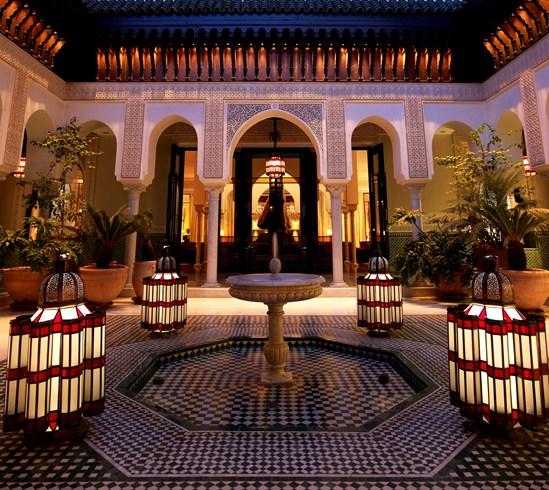 街と共に歴史を刻んできたマラケシュを代表するホテル「ラ・マムーニア」