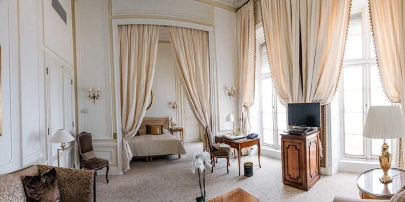 ホテル・デュ・パレの客室