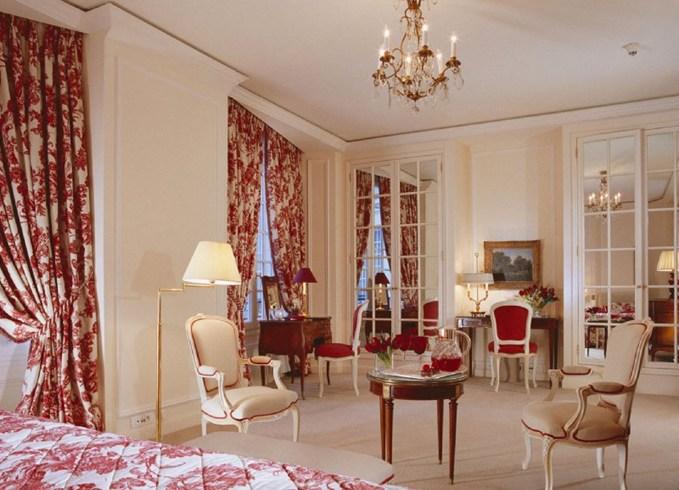 ル・ブリストル・パリの客室