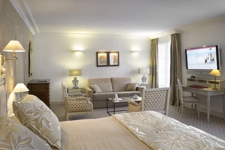 ホテル・ビブロス・サントロペの客室