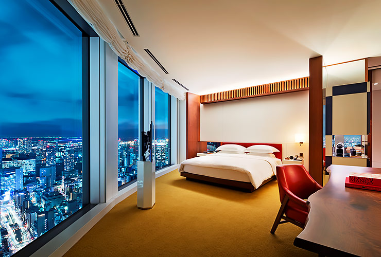 アンダーズ東京のスイートの客室