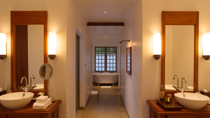 アマンタカスイートのバスルーム