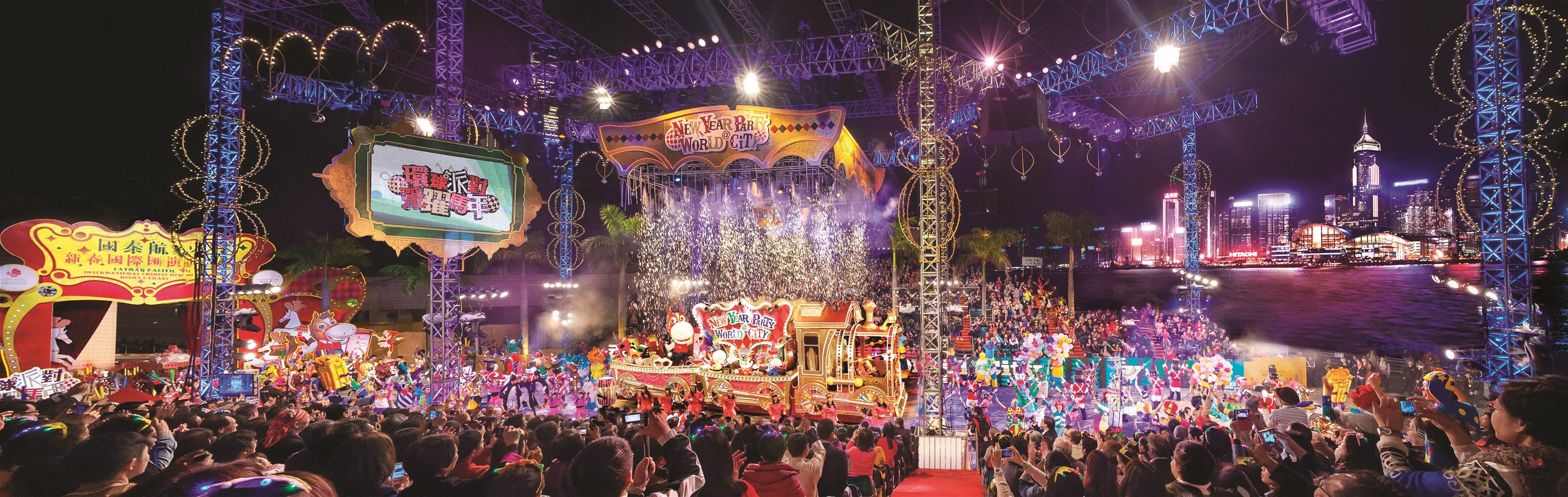 香港の旧正月に行われている「旧正月ナイト・パレード」が想像以上の規模だった!