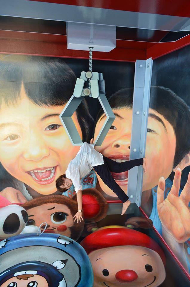 「ふしぎの迷宮!トリックアート展in渋谷ヒカリエ」が今日から開催♪