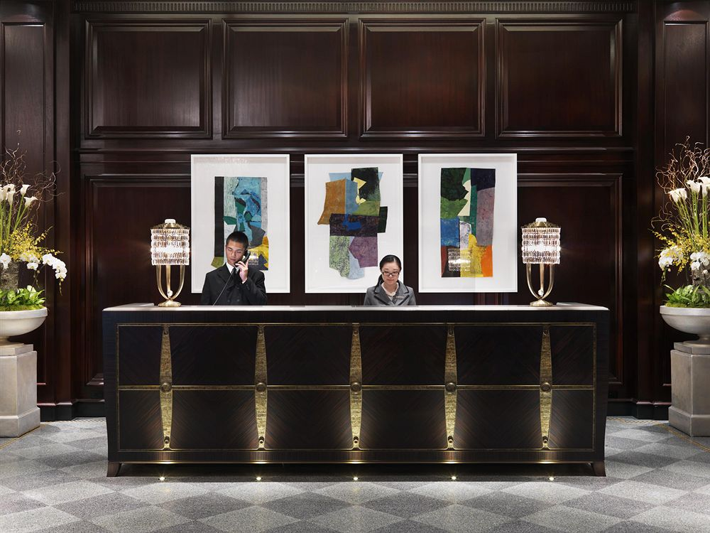 ローズウッド・ホテル・ジョージアのロビー