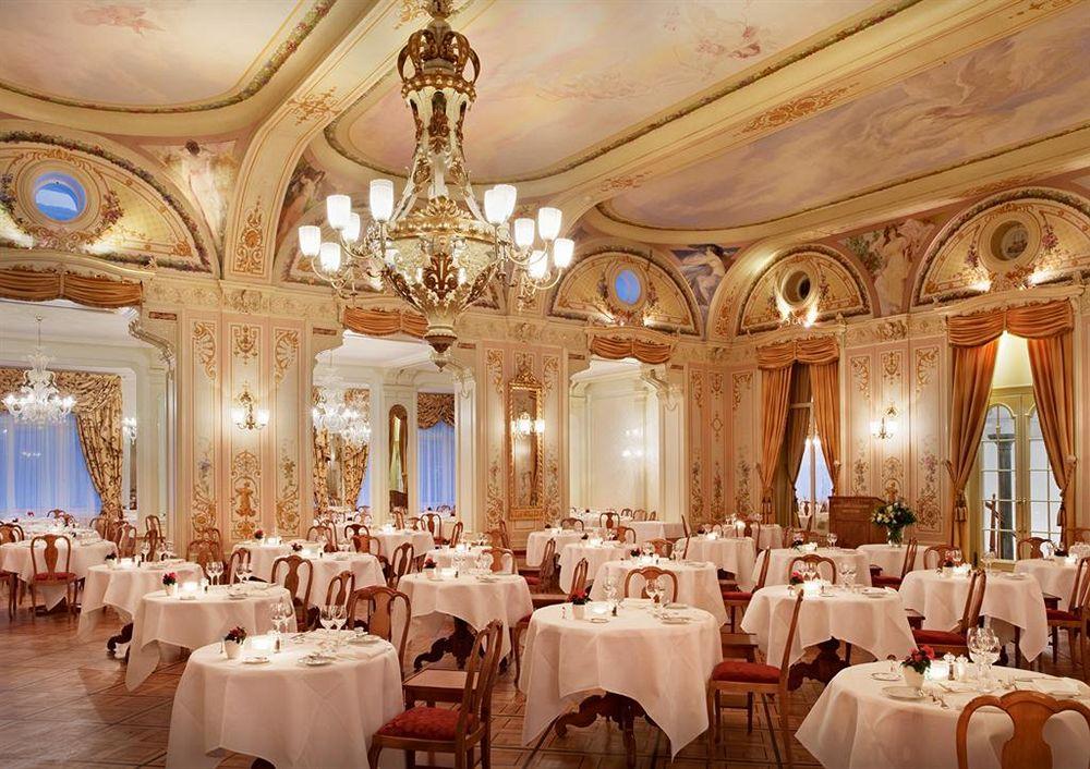 グランド・ホテル・クローネンホフのレストラン