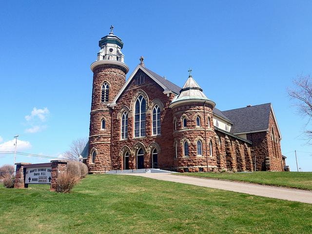 プリンスエドワード島のキャベンディッシュ教会
