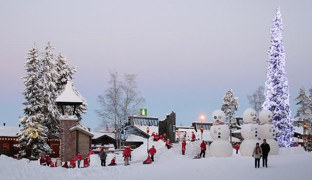 フィンランドのサンタクロース村