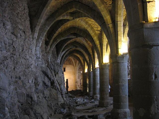 シヨン城のボニヴァールの牢獄