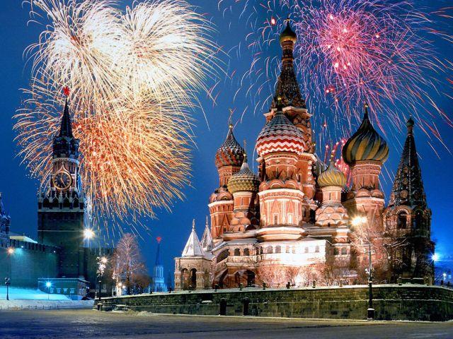 モスクワのカウントダウン