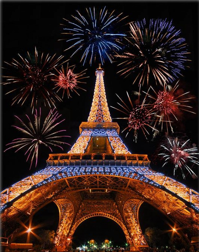パリのカウントダウン