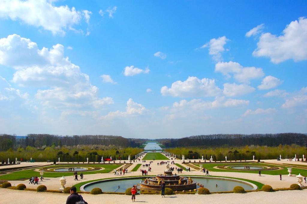 ベルサイユ宮殿の噴水庭園