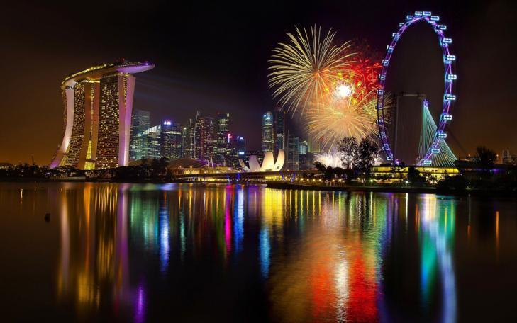 シンガポールのカウントダウン