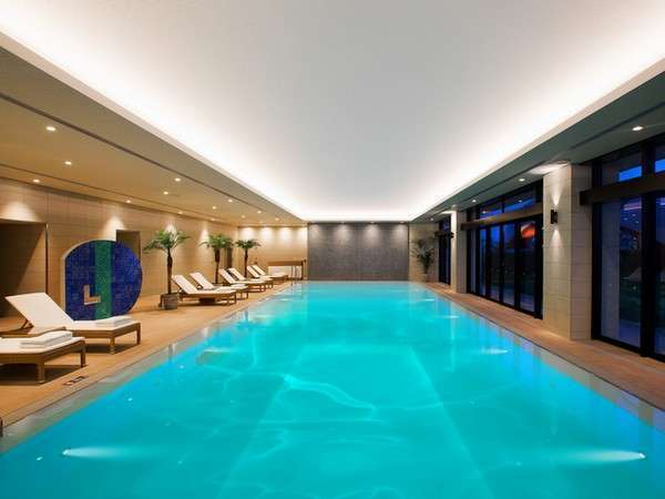ヒルトン沖縄北谷リゾートの温水プール
