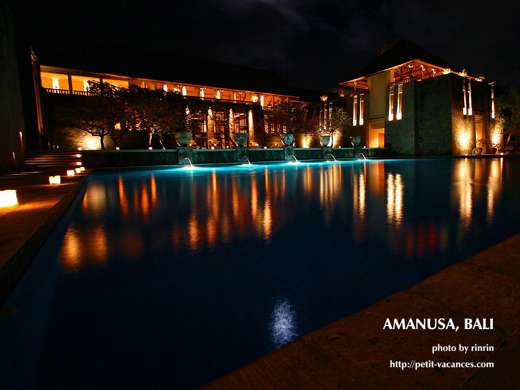素晴らしい展望が自慢のバリ島に輝く3つのアマンの一角「アマヌサ」