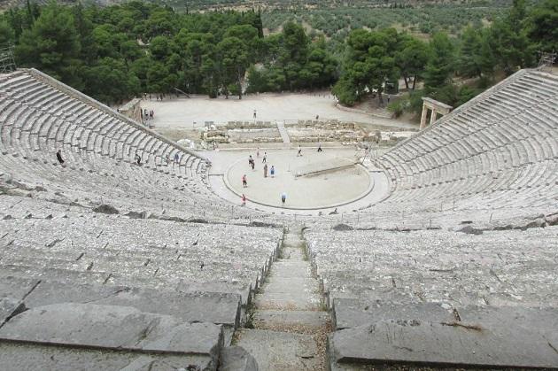 エピダウロスの劇場