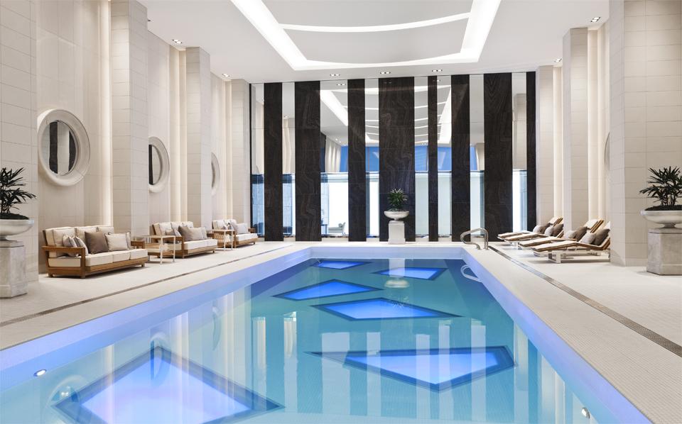 ローズウッド・ホテル・ジョージアのプール