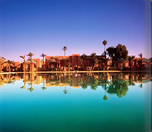 魅惑の国モロッコのマラケシュの郊外に佇む安らかなオアシス「アマンジェナ」