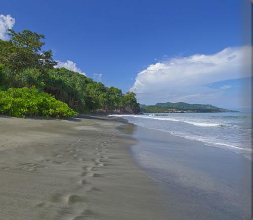 アマンキラのビーチ