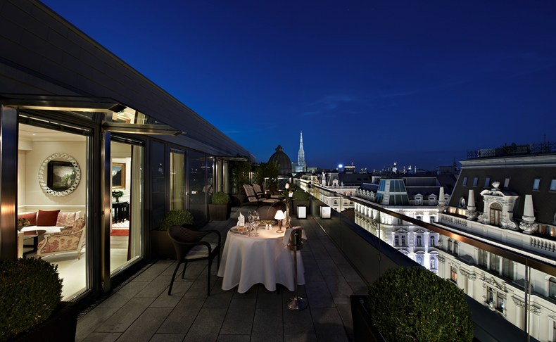 ホテル・ザッハー・ウィーンからの眺め