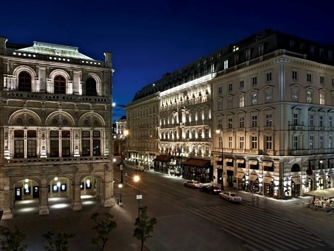 ザッハトルテ発祥の音楽と美食の都に輝く「ホテル・ザッハー・ウィーン」