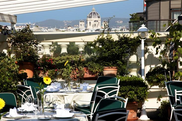 グランド・ホテル・ウィーンからの眺め